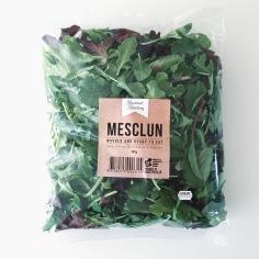 GOURMET SELECTIONS / salad bag label designs