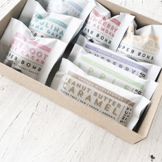 SNEAKY WHOLEFOODS / raw bar and ball packaging designs