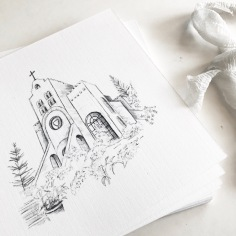 CHURCH / digital sketch