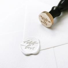 STAMPTITUDE X PTD / custom handwritten wax stamps