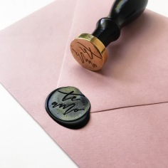 STAMPTITUDE X PTD / custom handwritten wax stamps