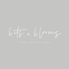 BITS + BLOOMS / branding
