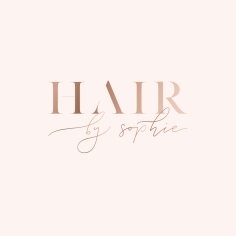 HAIR BY SOPHIE / logo design