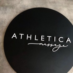 ATHLETICA MASSAGE / logo design