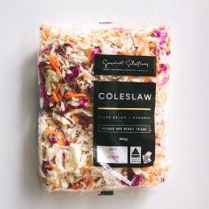 GOURMET SELECTIONS / salad bowl and bag label designs