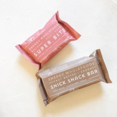 SNEAKY WHOLEFOODS / raw bar and ball packaging designs featuring hand illustrations