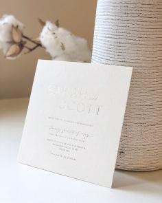 SARAH & SCOTT / gold foil on cotton