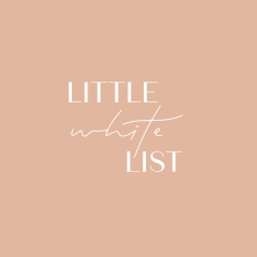LITTLE WHITE LIST / branding