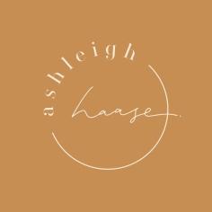 ASHLEIGH HAASE / logo design