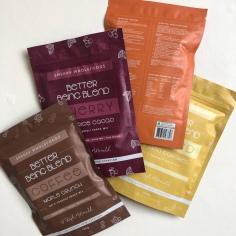 SNEAKY WHOLEFOODS x BETTER BEING / packaging design