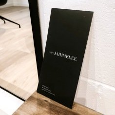 SALON JAIMMELEE / branding and price list design
