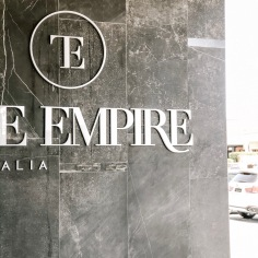 TILE EMPIRE / logo and monogram design