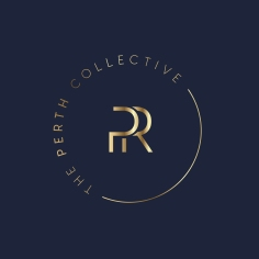 THE PERTH COLLECTIVE PR / monogram design