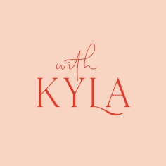 WITH KYLA / logo design