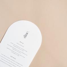 THE SECRET / arch menus
